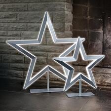 Étoile LED - L'étoile lumineuse de luxe. Dimmable en continu. Avec laque métallisée. De Villeroy & Boch.