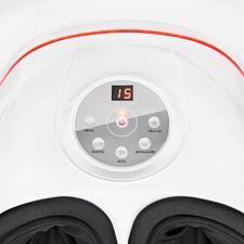 Toutes les fonctions de l'appareil sont réglables à l'aide de 4touches (+touche marche/arrêt): massage profond, aéromassage, automatique et chaleur.