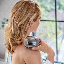 Appareil de massage MiniScalp - Massage bienfaisant par pétrissage, comme chez le masseur. Au bureau, en voyage, sous la douche ...