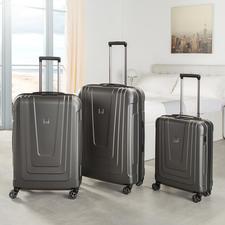 Trolley Titan®  X-Ray Pro - Les valises nouvelle génération : avec lecteur d'empreintes digitales au lieu d'une serrure à code. Conception et réalisation de qualité : made in Germany.