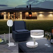 Ventilateur variable sans fil - L'ingénieux ventilateur variable adapté à toutes les circonstances. Sans fil. Escamotable. Mobile.