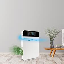 Purificateur d'air «AirPurifier» 6-en-1 - Technologie de filtre puissance 6 très efficace – pour un air pur jusqu'à 99 %. Dans un design élégant à un prix très raisonnable.