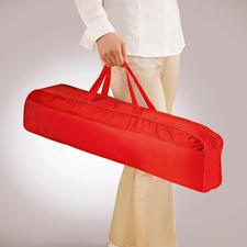 Le sac de transport livré de 66cm vous permet de transporter votre moustiquaire très facilement.