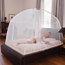 Moustiquaire mobile - Un système d'assemblage extrêmement simple assure une protection optimale contre les insectes qui piquent.