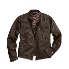 Veste en cuir de renne 800 g - Seulement 800 grammes : un cuir rare, du nappa de jeune renne, doux comme la soie et étonnamment robuste.