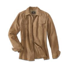 Veste en cuir climatisée - La veste en cuir pour l'été – légère et aérée comme une chemise. Ne pèse que 660 grammes.