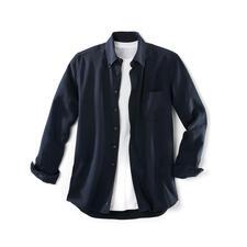 Chemise en denim Tencel® - Vous allez adorer cette chemise en « jean » aussi bien par beau temps que par grand froid.