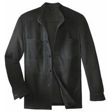Veste en cuir de jeune renne - Une veste en cuir robuste, aussi légère qu'une chemise. Ne pèse que 650grammes.