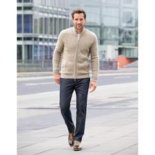 Veste en tricot bébé alpaga Clark Ross - Doux comme du cachemire, mais assez robuste pour la vie quotidienne.