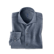 Chemise en fil jaspé Dufour - Une chemise aussi chaude et confortable que votre pull favori.
