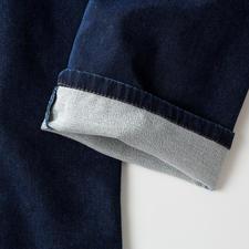 Face intérieure du jersey légèrement molletonnée – pour plus de douceur.