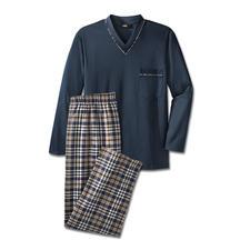 Pyjama favori, long. No. 4 - Votre pyjama favori, Du pur coton, à la confection soignée, made in Germany.