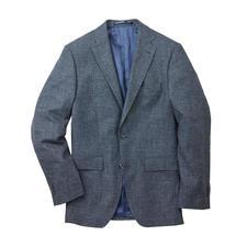 Veston d'affaire aspect denim Kastell - Le look décontracté du denim. Le sérieux d'une veste d'affaires. Correct et décontracté à la fois.
