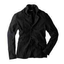 Veston en tricot Hannes Roether - L'excellente tenue d'un véritable veston, la souplesse et le confort d'un gilet en tricot. De Hannes Roether.
