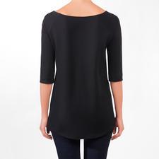 Shirt, manches 3/4