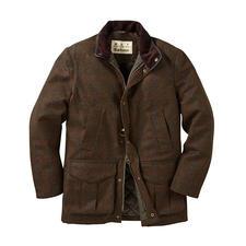 Hunting Jacket 2.0 Barbour - Un classique de gentleman réactualisé : la veste de chasse en tweed imperméable. De Barbour.
