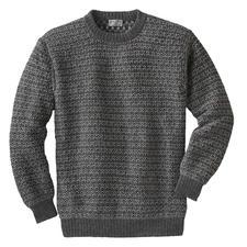 Pullover en alpage Intiwara - Rare tricot artisanal venant des Andes. Et non pas une production de masse d'Extrême-Orient.