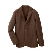 Blazer en tricot Geelong Gran Sasso - Vous trouverez difficilement un blazer en laine plus doux et de meilleure qualité.