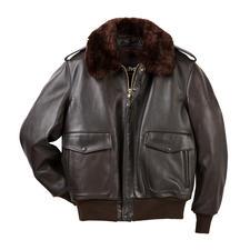 Veste d'aviateur A2 Schott - La veste d'aviateur de l'armée de l'air américaine de 1931 à 1943. Aujourd'hui encore à la mode.