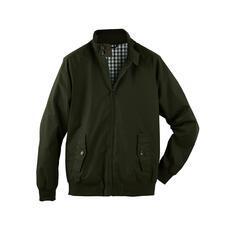 Veste cirée Harrington - La veste Harrington classique et culte – désormais en coton ciré résistant aux intempéries.