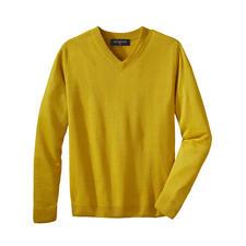 Pull basique en lin Junghans 1954 - Votre pull basique estival – une rareté en pur lin. Fabriqué en Irlande. De Junghans 1954.