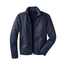 Veste en cuir de poche - Légère. Aérée. Se range aisément. Et même utilisable comme traversin.