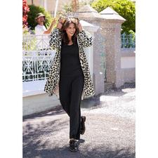 Imperméable léopard Ilse Jacobsen - Les vêtements fonctionnels sont rarement aussi chics et tendances. Imperméable coupe-vent de Ilse Jacobsen.