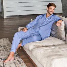 Pyjama Gentleman Ambassador - Un incontournable pour chaque garde-robe bien entretenue – chez Ambassador depuis 1867, Copenhague.