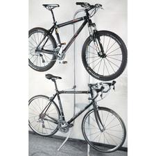"""Le """"valet"""" pour vélo - Sans percer. Sans visser. Suspendre tout simplement."""