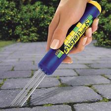 Le nettoyeur pour joints de dallages - Pour les joints de toutes largeurs et de toutes formes.