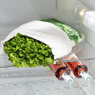 Poche fraîcheur pour salade Préserve la fraîcheur de votre salade jusqu'à 10 fois plus longtemps.