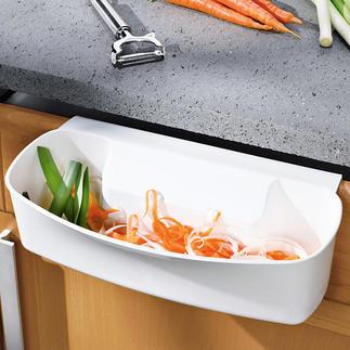 Collecteur de déchets à crocheter Pour désencombrer la planche à découper ou le plan de travail. Et pour une cuisine propre.