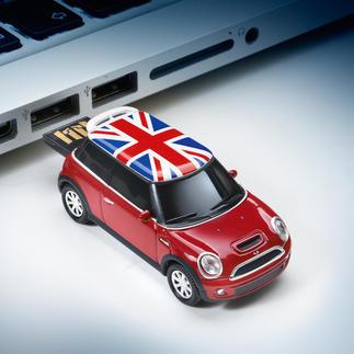 Voitures miniatures USB Votre mémoire de données la plus originale. Des voitures miniatures à l'échelle avec clé USB rétractable.