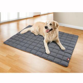 Couverture pour chien lavable à 95°C Les premiers coussins doux matelassés pour chien lavables en machine à 95 °C.