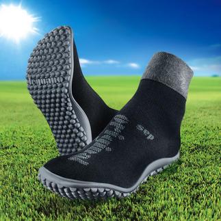 Chaussures ou Ballerines pieds nus Leguano® Saines et relaxantes comme la marche pieds nus. Confortables et chauffantes comme des chaussettes.