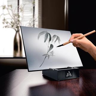 Buddha Board Une merveilleuse source de relaxation : créez de fascinantes œuvres d'arts éphémères.