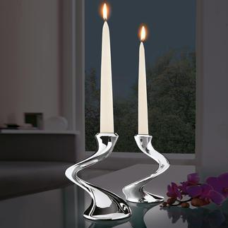 """Chandelier """"Windrush"""" S'accorde à toutes les décors de table, en solo ou en chandelier. Fait d'un seul tenant & sans joint."""