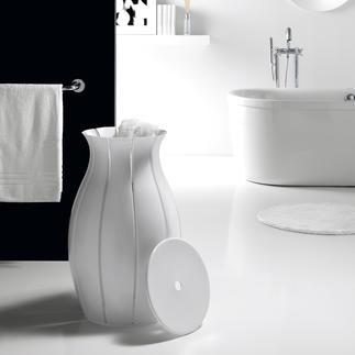 """Panier à linge """"Amphora"""" Un objet remarquable dans votre salle de bain raffinée : le panier à linge en forme d'amphore."""
