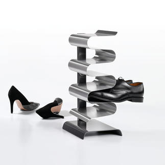 """Étagère à chaussures """"Nest"""" Maintient vos chaussures de façon aérée sans risque de glisser ni de les abîmer."""