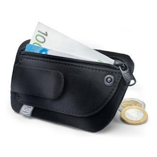 Minipochette « Clippouch » Argent, carte de crédit,carte d'identité... tout est à portée de main, même avec de légers vêtements d'été.
