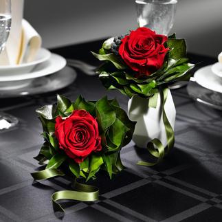 Bouquet de roses odorant Véritables roses – comme fraîchement coupées, pendant près de 2 ans.