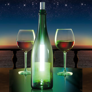 Bottlelight Pour que les bouteilles de vin ou de Champagne vides deviennent de jolis luminaires.