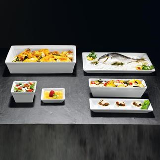 Formes ASA Cuire, gratiner, congeler. Dresser et servir – comme dans un restaurant gastronomique.
