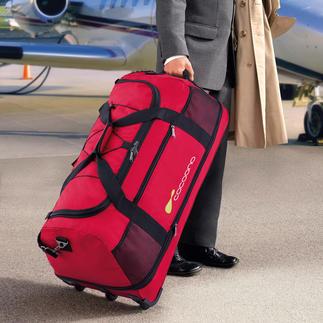 Sac de voyage XXL ultraléger Léger comme une plume : ce sac pèse moins de 14 grammes par litre de volume.