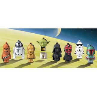 Clé USB La Guerre des étoiles, 8 Go Des clés USB au statut d'objets cultes. Les personnages officiels du film La Guerre des étoiles.