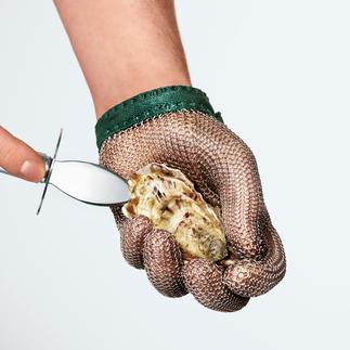 Gant de protection Gants pour huîtres de fabrication allemande. Idéal pour les taches dangereuses, avec des couteaux tranchants.