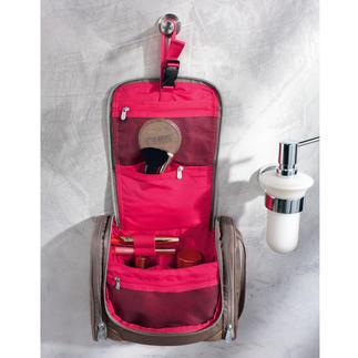 Samsonite® Trousse de toilette Enfin une trousse de toilette pratique qui ne paraît pas masculine. Un coloris féminin. Un effet chic.