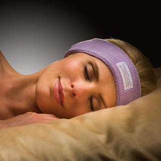 Bandeau à écouteurs SleepPhones® Enfin des écouteurs avec lesquels on peut s'endormir confortablement. Ultraplats. Très flexibles.