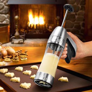 Presse à biscuits Cookie Pro™ Réussissez vos biscuits sablés rapidement et facilement.