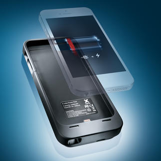 Coque batterie haute puissance pour iPhone 5 La coque batterie la plus fine et la plus légère du marché.